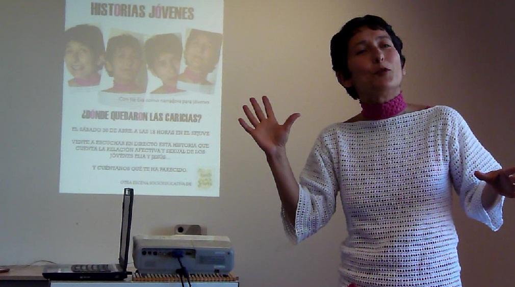 Narrahistorias dinámico en Servicio Juventud Guadarrama