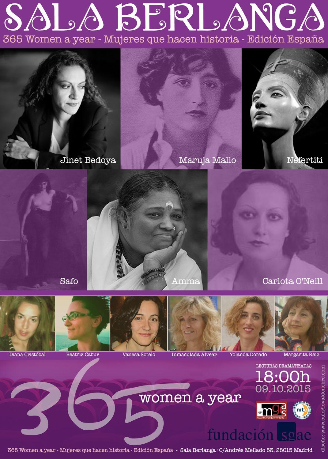365 WOMEN A YEAR Y EL HUERTO DE LA PARRA