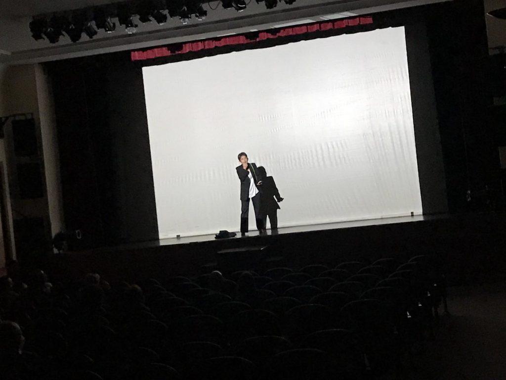 Perla Madura estrenándose en el Teatro Moderno de Guadalajara
