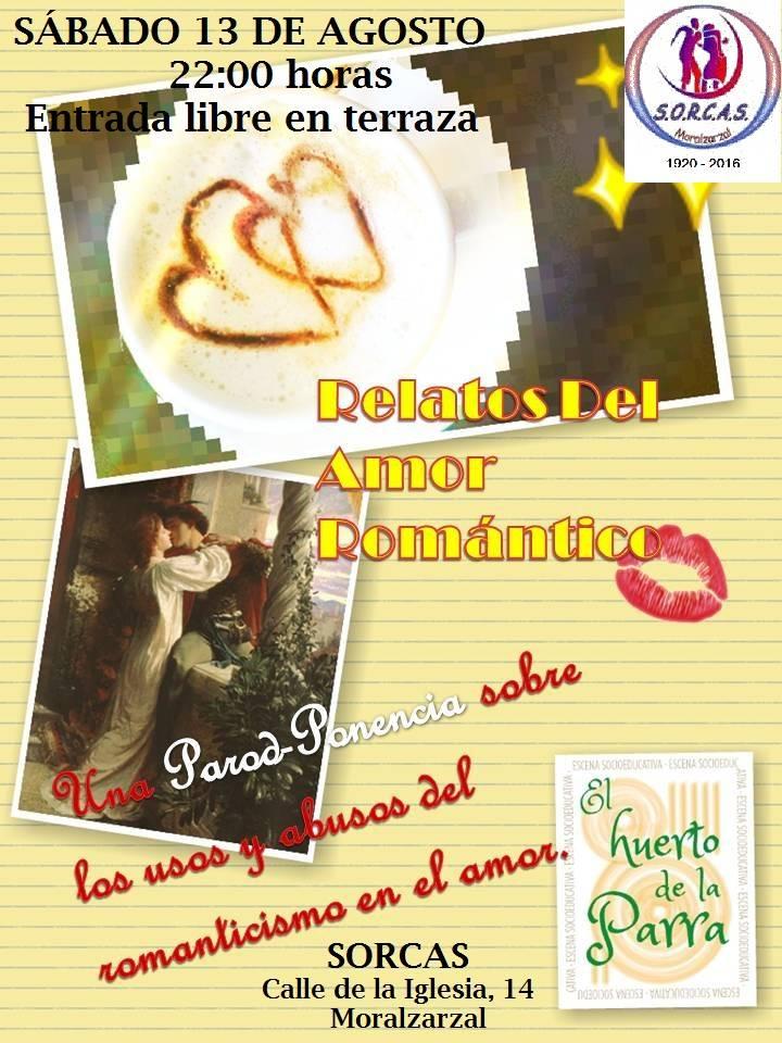 Relatos del Amor Romántico en el mes de agosto