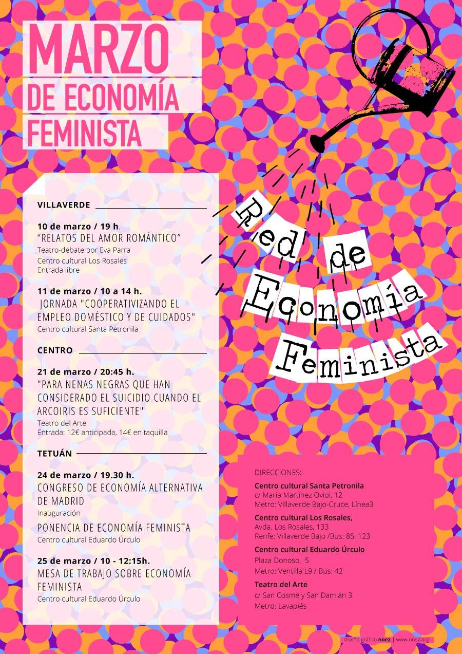 El Huerto de la Parra en la Red de Economía Feminista